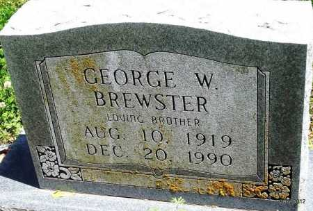 BREWSTER, GEORGE W - Phillips County, Arkansas | GEORGE W BREWSTER - Arkansas Gravestone Photos