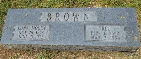 BROWN, FRED - Phillips County, Arkansas | FRED BROWN - Arkansas Gravestone Photos