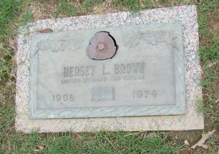BROWN, HERSEY L - Phillips County, Arkansas | HERSEY L BROWN - Arkansas Gravestone Photos