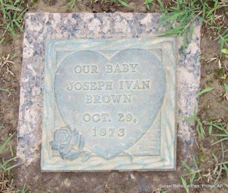 BROWN, JOSEPH IVAN - Phillips County, Arkansas | JOSEPH IVAN BROWN - Arkansas Gravestone Photos