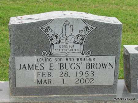 "BROWN, JAMES E ""BUGS"" - Phillips County, Arkansas | JAMES E ""BUGS"" BROWN - Arkansas Gravestone Photos"