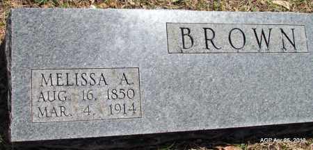 BROWN, MELISSA A - Phillips County, Arkansas   MELISSA A BROWN - Arkansas Gravestone Photos