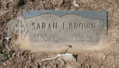 BROWN, SARAH J - Phillips County, Arkansas | SARAH J BROWN - Arkansas Gravestone Photos