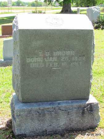 BROWN, T D - Phillips County, Arkansas | T D BROWN - Arkansas Gravestone Photos