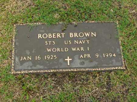 BROWN (VETERAN WWII), ROBERT - Phillips County, Arkansas | ROBERT BROWN (VETERAN WWII) - Arkansas Gravestone Photos