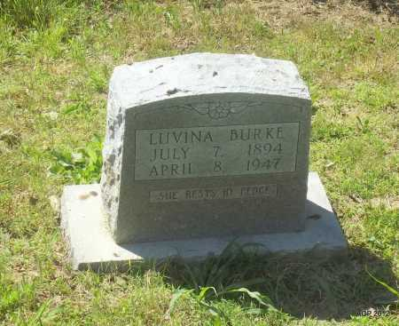 BURKE, LUVINA - Phillips County, Arkansas | LUVINA BURKE - Arkansas Gravestone Photos