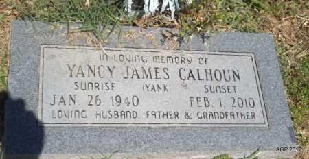 "CALHOUN, YANCY JAMES ""YANK"" - Phillips County, Arkansas | YANCY JAMES ""YANK"" CALHOUN - Arkansas Gravestone Photos"
