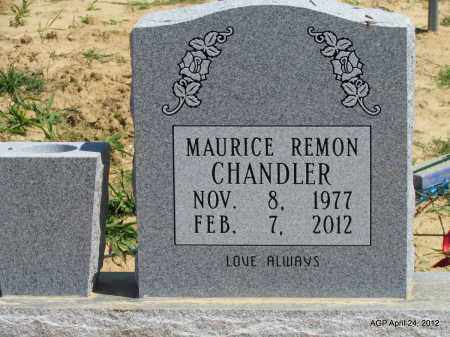 CHANDLER, MAURICE REMON - Phillips County, Arkansas | MAURICE REMON CHANDLER - Arkansas Gravestone Photos