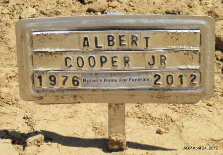 COOPER, JR, ALBERT - Phillips County, Arkansas   ALBERT COOPER, JR - Arkansas Gravestone Photos