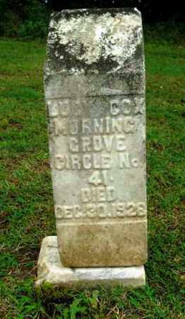 COX, LUCY - Phillips County, Arkansas   LUCY COX - Arkansas Gravestone Photos