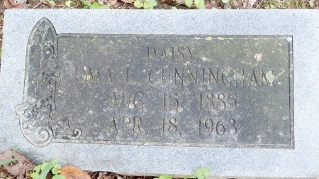 "CUNNINGHAM, OMA L ""DAISY"" - Phillips County, Arkansas 