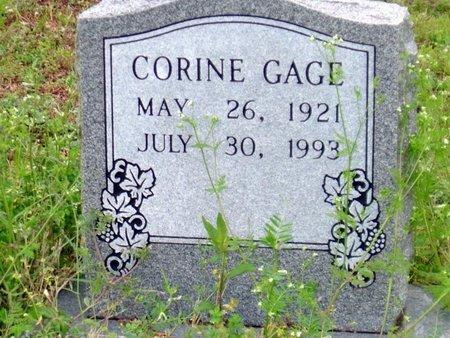 GAGE, CORINE - Phillips County, Arkansas | CORINE GAGE - Arkansas Gravestone Photos