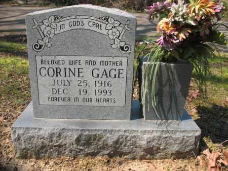 GAGE, CORINE - Phillips County, Arkansas   CORINE GAGE - Arkansas Gravestone Photos
