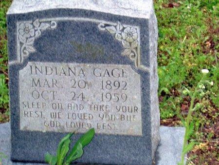 GAGE, INDIANA - Phillips County, Arkansas | INDIANA GAGE - Arkansas Gravestone Photos
