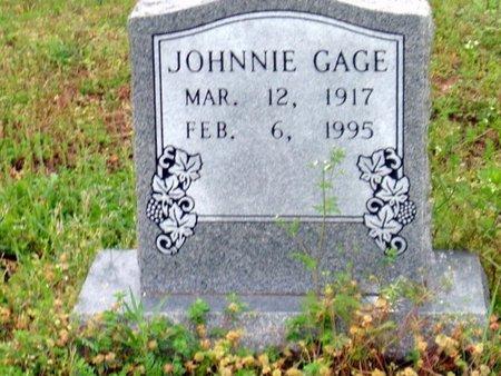 GAGE, JOHNNIE - Phillips County, Arkansas | JOHNNIE GAGE - Arkansas Gravestone Photos