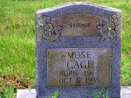 GAGE, MOSE - Phillips County, Arkansas   MOSE GAGE - Arkansas Gravestone Photos