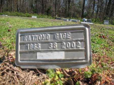 GAGE, RAYMOND - Phillips County, Arkansas | RAYMOND GAGE - Arkansas Gravestone Photos