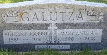 GALUTZA, VINCENT JOSEPH - Phillips County, Arkansas | VINCENT JOSEPH GALUTZA - Arkansas Gravestone Photos
