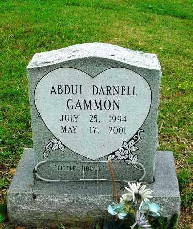 GAMMON, ABDUL DARNELL - Phillips County, Arkansas | ABDUL DARNELL GAMMON - Arkansas Gravestone Photos