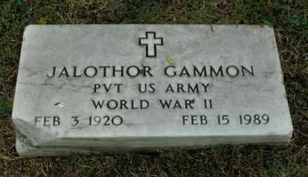 GAMMON (VETERAN WWII), JALOTHOR - Phillips County, Arkansas | JALOTHOR GAMMON (VETERAN WWII) - Arkansas Gravestone Photos