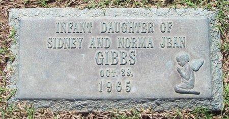GIBBS, INFANT - Phillips County, Arkansas | INFANT GIBBS - Arkansas Gravestone Photos