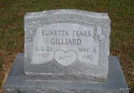 GILLIARD, EUNETTA - Phillips County, Arkansas | EUNETTA GILLIARD - Arkansas Gravestone Photos