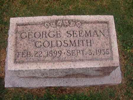 GOLDSMITH, GEORGE SEEMAN - Phillips County, Arkansas   GEORGE SEEMAN GOLDSMITH - Arkansas Gravestone Photos