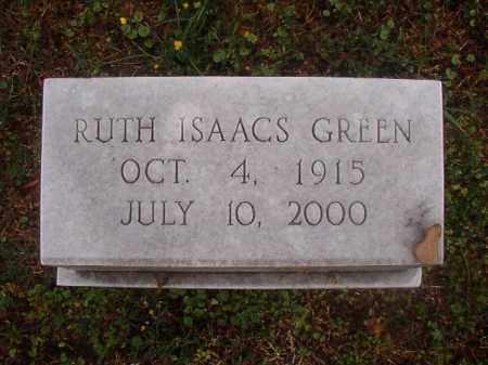GREEN, RUTH - Phillips County, Arkansas | RUTH GREEN - Arkansas Gravestone Photos
