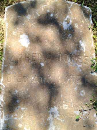 JONES, ARRENA - Phillips County, Arkansas | ARRENA JONES - Arkansas Gravestone Photos