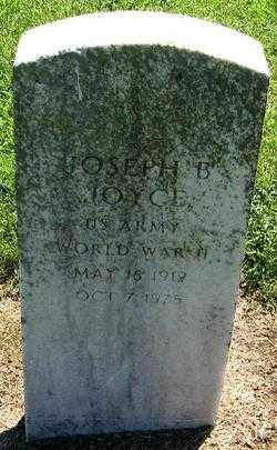 JOYCE (VETERAN WWII), JOSEPH B - Phillips County, Arkansas   JOSEPH B JOYCE (VETERAN WWII) - Arkansas Gravestone Photos