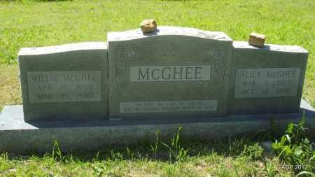 MCGHEE, WILLIE - Phillips County, Arkansas | WILLIE MCGHEE - Arkansas Gravestone Photos