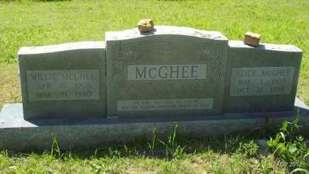 MCGHEE, ALICE - Phillips County, Arkansas | ALICE MCGHEE - Arkansas Gravestone Photos