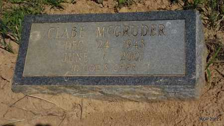 MCGRUDER, CLABE - Phillips County, Arkansas | CLABE MCGRUDER - Arkansas Gravestone Photos