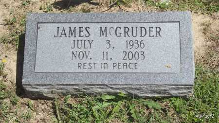 MCGRUDER, JAMES - Phillips County, Arkansas | JAMES MCGRUDER - Arkansas Gravestone Photos