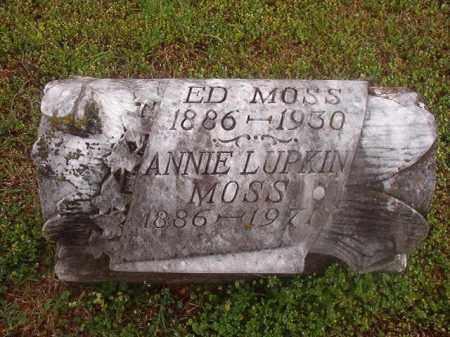 MOSS, ANNIE - Phillips County, Arkansas   ANNIE MOSS - Arkansas Gravestone Photos