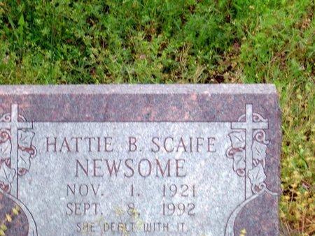 NEWSOME, HATTIE B. - Phillips County, Arkansas | HATTIE B. NEWSOME - Arkansas Gravestone Photos