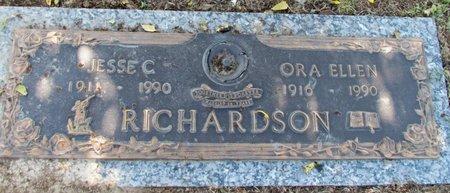 RICHARDSON, ORA ELLEN - Phillips County, Arkansas   ORA ELLEN RICHARDSON - Arkansas Gravestone Photos