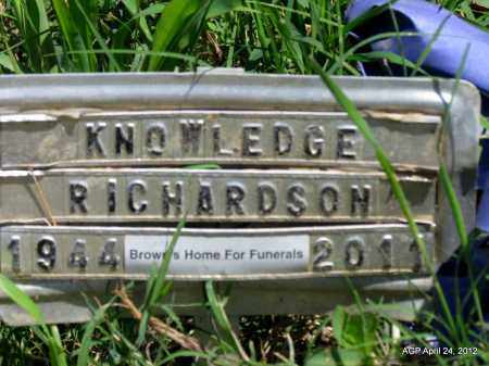 RICHARDSON, KNOWLEDGE - Phillips County, Arkansas | KNOWLEDGE RICHARDSON - Arkansas Gravestone Photos