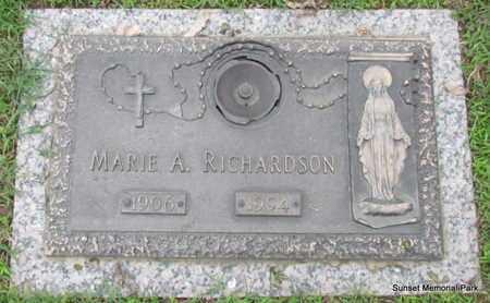RICHARDSON, MARIE A - Phillips County, Arkansas | MARIE A RICHARDSON - Arkansas Gravestone Photos