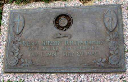 RICHARDSON, RENA - Phillips County, Arkansas | RENA RICHARDSON - Arkansas Gravestone Photos