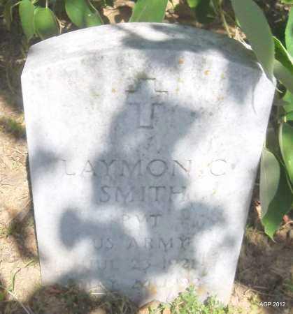 SMITH (VETERAN), LAYMON C - Phillips County, Arkansas | LAYMON C SMITH (VETERAN) - Arkansas Gravestone Photos