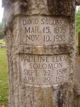 SOLOMON, PAULINE - Phillips County, Arkansas | PAULINE SOLOMON - Arkansas Gravestone Photos
