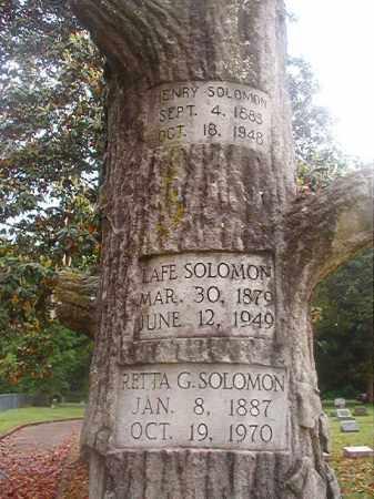 SOLOMON, RETTA G - Phillips County, Arkansas | RETTA G SOLOMON - Arkansas Gravestone Photos