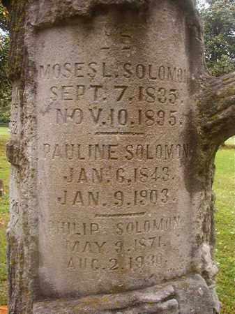 SOLOMON, PHILIP - Phillips County, Arkansas | PHILIP SOLOMON - Arkansas Gravestone Photos