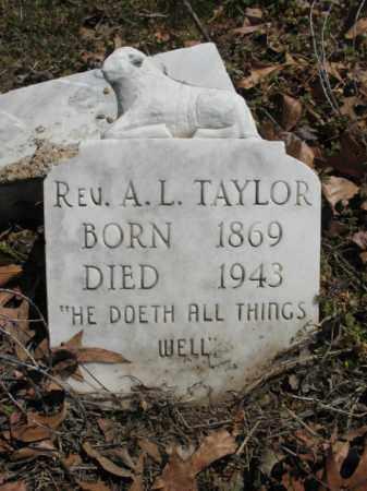 TAYLOR, A L, REV - Phillips County, Arkansas | A L, REV TAYLOR - Arkansas Gravestone Photos