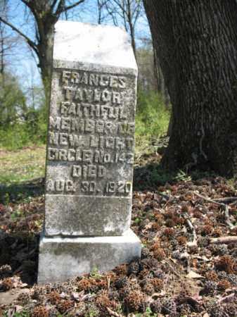 TAYLOR, FRANCES - Phillips County, Arkansas   FRANCES TAYLOR - Arkansas Gravestone Photos