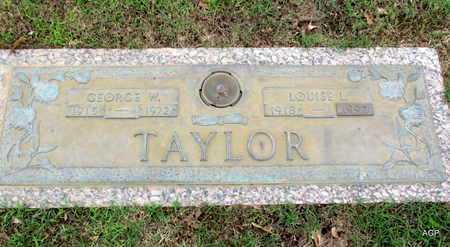 TAYLOR, GEORGE W - Phillips County, Arkansas | GEORGE W TAYLOR - Arkansas Gravestone Photos