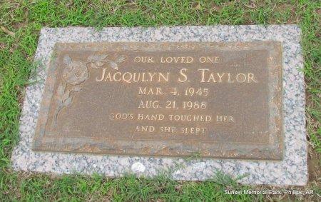 TAYLOR, JACQULYN SUE - Phillips County, Arkansas | JACQULYN SUE TAYLOR - Arkansas Gravestone Photos