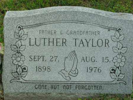 TAYLOR, LUTHER - Phillips County, Arkansas | LUTHER TAYLOR - Arkansas Gravestone Photos
