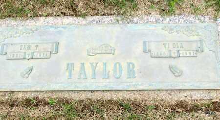 TAYLOR, SAM T - Phillips County, Arkansas | SAM T TAYLOR - Arkansas Gravestone Photos